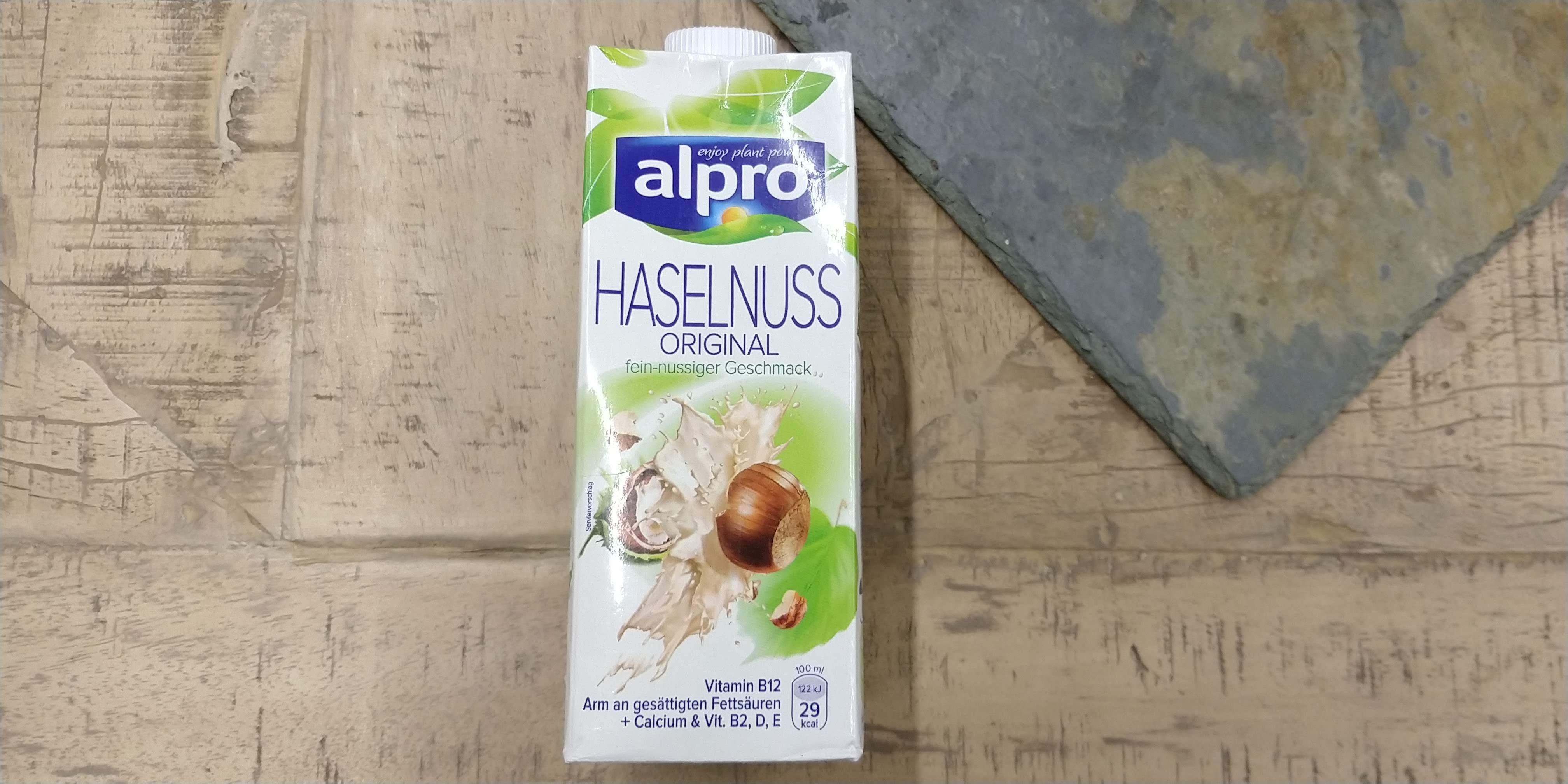 Alpro Haselnussmilch